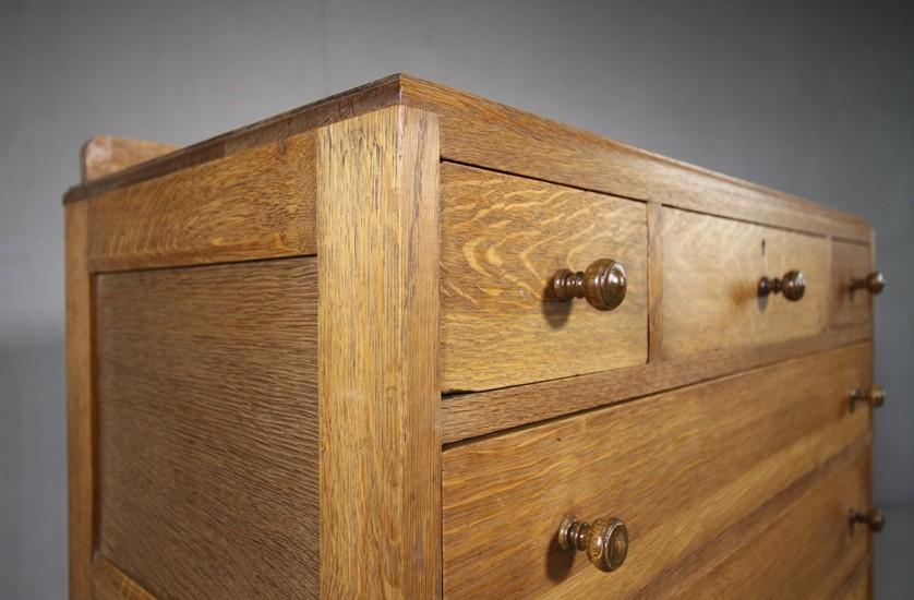 oak dresser with drawers