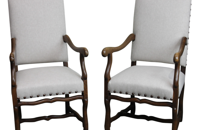Pair of Os de Mouton Chairs