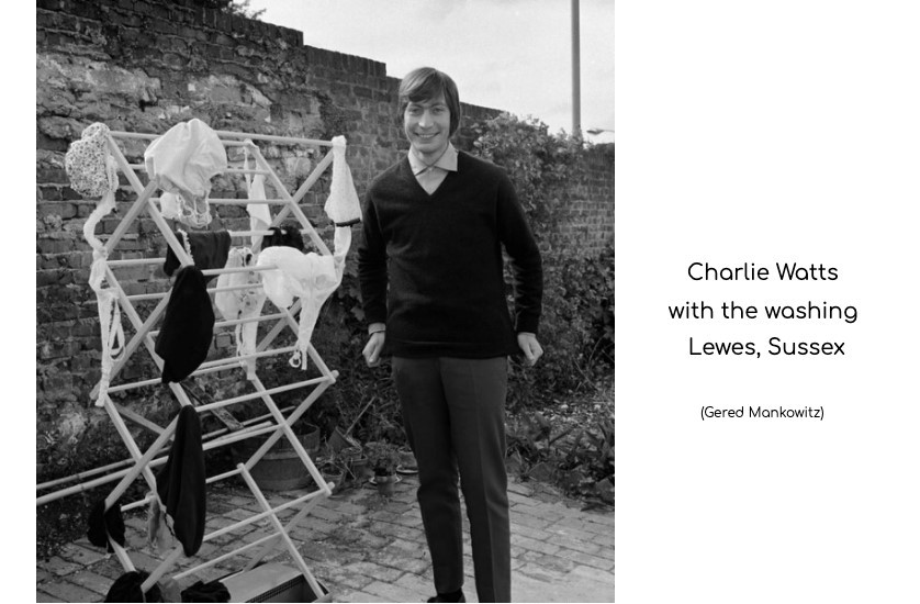 charlie watts with the washing lewes sussex