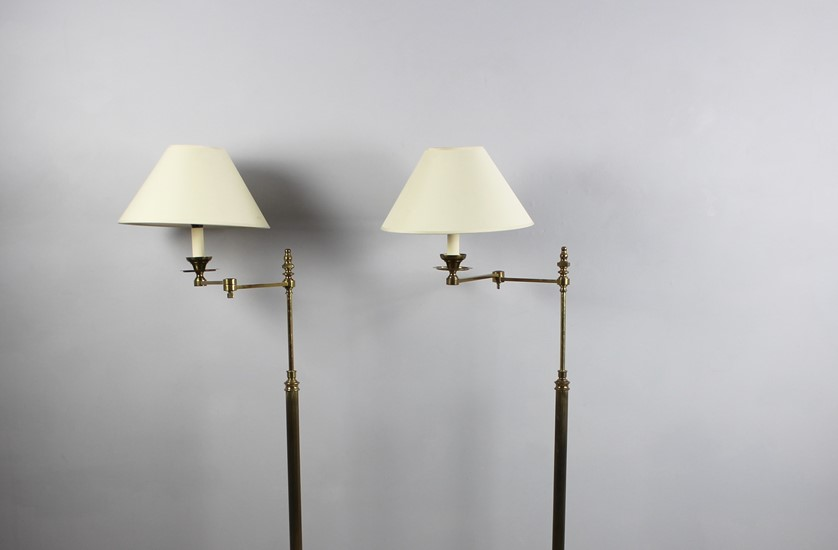 pair french library lights